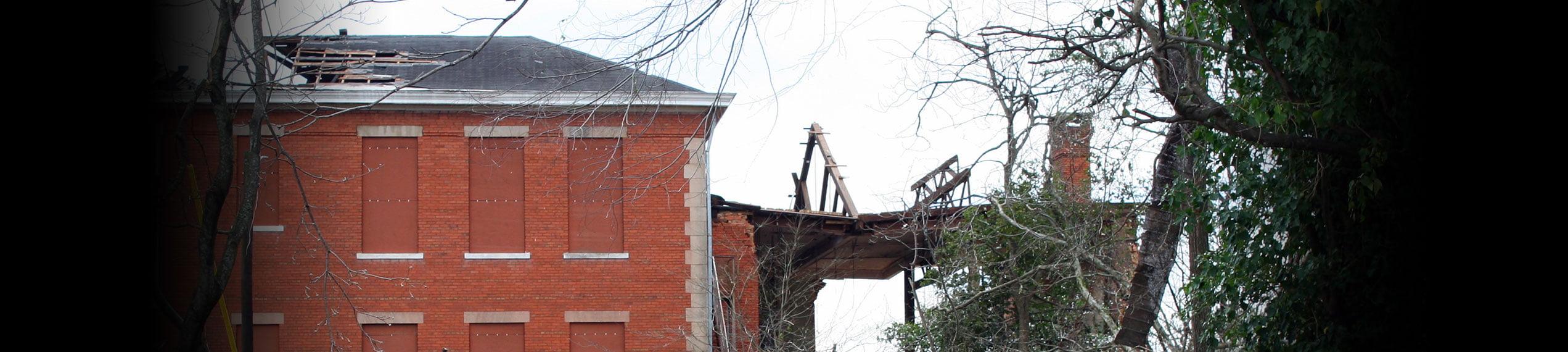 Wind & Storm Damage Repairs in Paul Davis Restoration & Remodeling of Greater Charleston